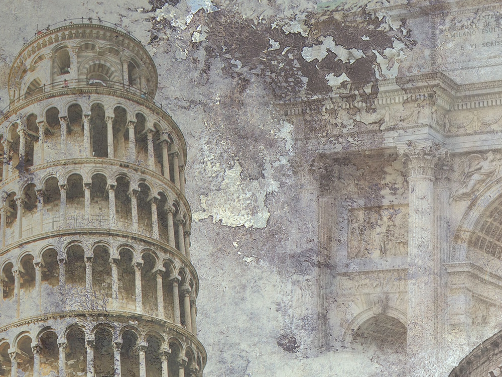 carta da parati città italiane made in Italy - Nanni Giancarlo